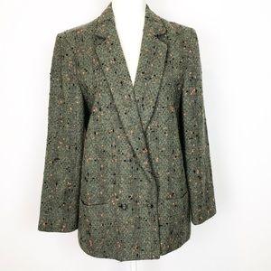 "Cassidy Jackets & Coats - Vintage 90s ""Miami Vice"" Style Wool/Angora Blend C"